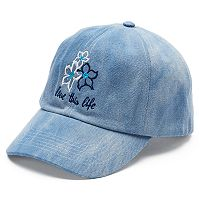 Women's love this life Hibiscus Trio Baseball Cap