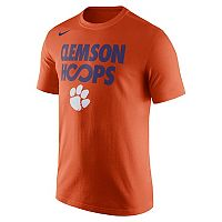 Men's Nike Clemson Tigers Basketball Tee