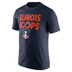 Men's Nike Illinois Fighting Illini Basketball Tee