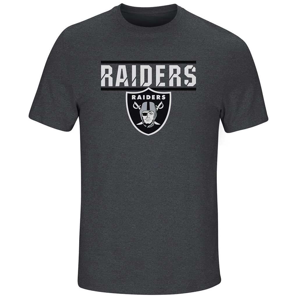 Men's Majestic Oakland Raiders Flex Team Tee