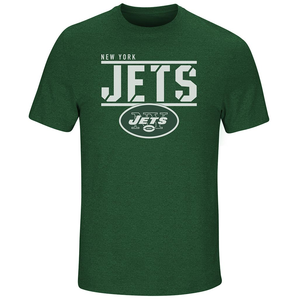 Men's Majestic New York Jets Flex Team Tee