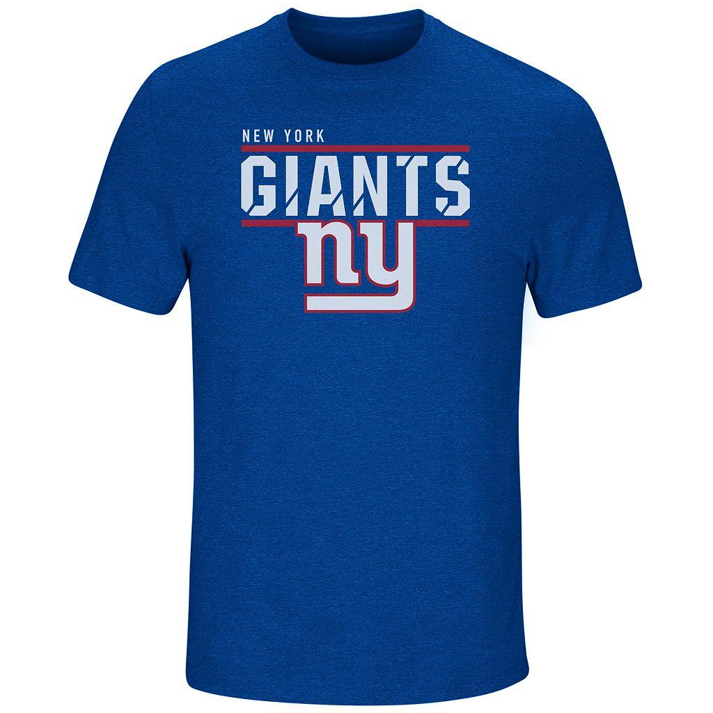 Men's Majestic New York Giants Flex Team Tee