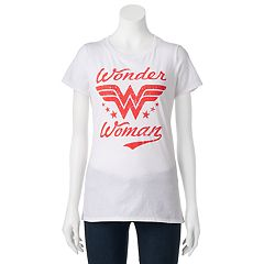 Juniors' DC Comics Wonder Woman Burnout Graphic Tee