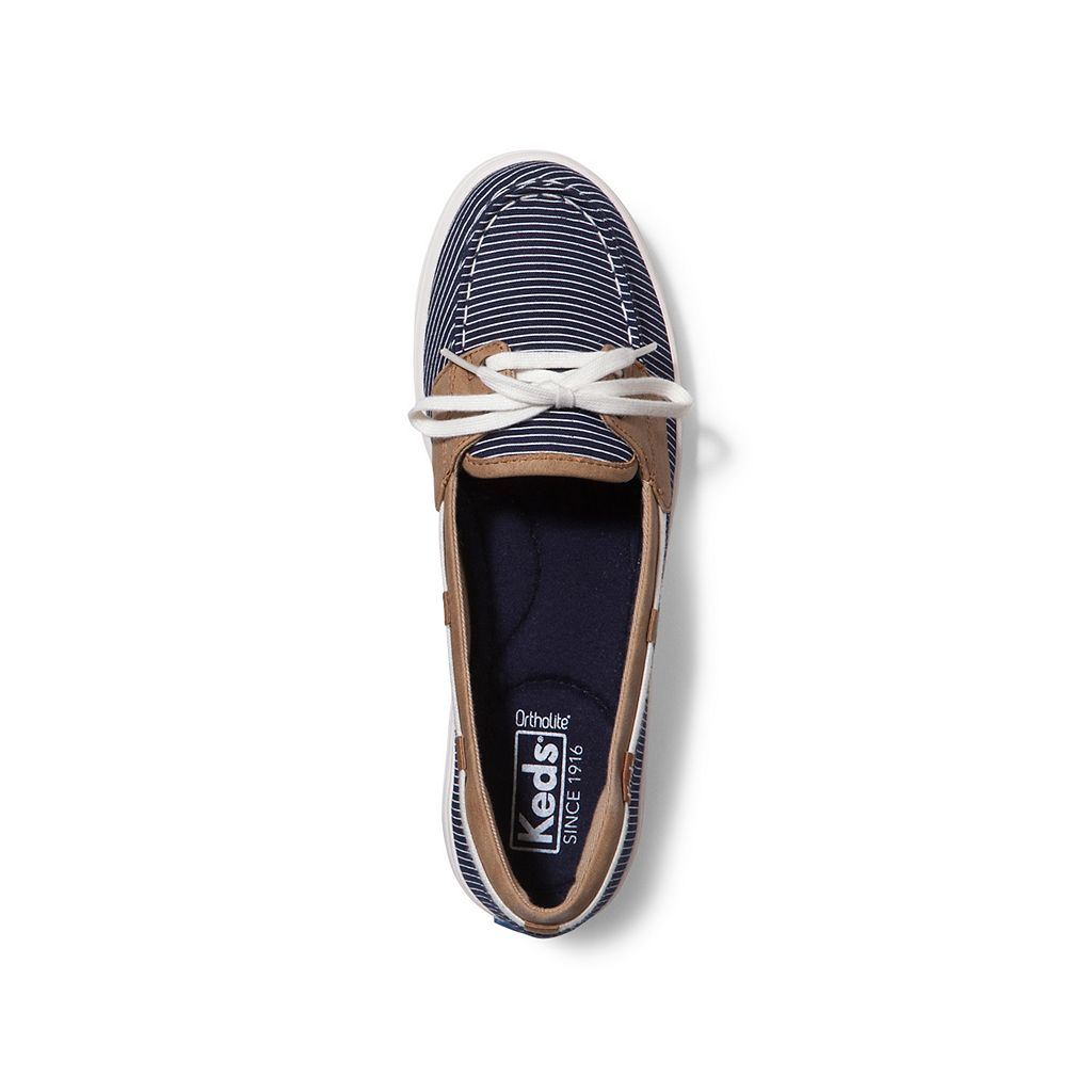 Keds Glimmer Women's Ortholite Boat Shoes