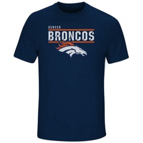 Men's Majestic Denver Broncos Flex Team Tee