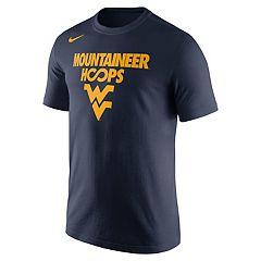 Men's Nike West Virginia Mountaineers Basketball Tee