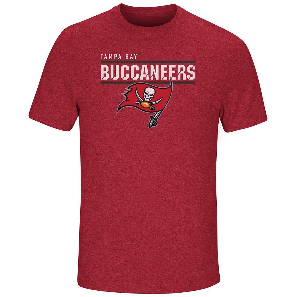 Men's Majestic Tampa Bay Buccaneers Flex Team Tee