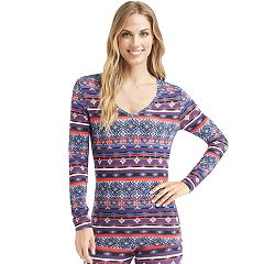 Women's Cuddl Duds Softwear V-Neck Top