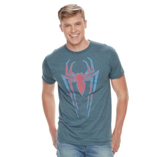 Men's Marvel Spider-Man Logo Tee