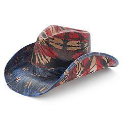 Peter Grimm Festi Drifter Stars & Stripes Cowboy Hat