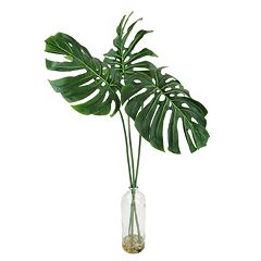 Designs by Lauren Artificial Philodendron Leaf Plant