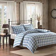 Woolrich 3 pc Tasha Flannel Comforter Set