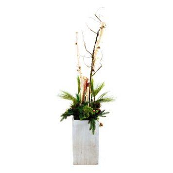 Designs by Lauren Artificial Birch & Pine Arrangement