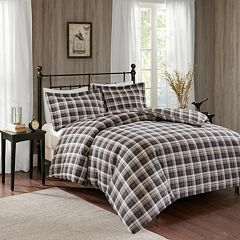 Woolrich 3 pc Tasha Flannel Duvet Cover Set