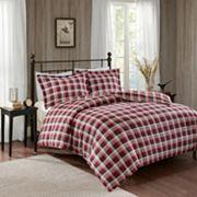 Woolrich 3 pc Tasha Flannel Duvet Cover Set
