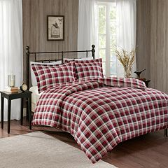 Woolrich 3-piece Tasha Flannel Duvet Cover Set