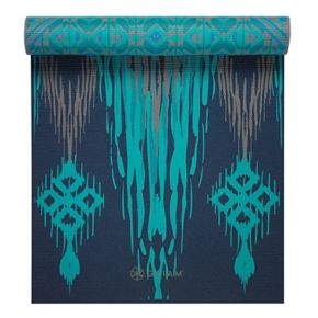 Gaiam 6mm Caspian Trance Reversible Yoga Mat