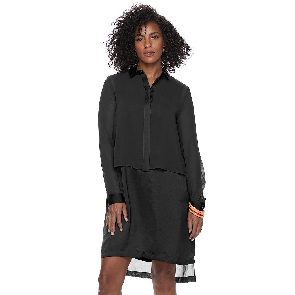 Women's Apt. 9® Layered Shirtdress