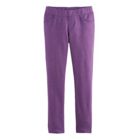 Girls 4-10 Jumping Beans® Solid Jeggings