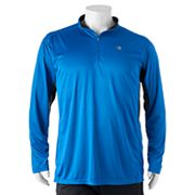 Big & Tall Champion Modern-Fit Colorblock Quarter-Zip Pullover