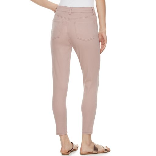 Juniors' SO® Color High Waist Ankle Jeggings