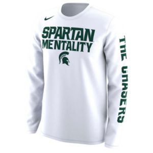 Men's Nike Michigan State Spartans Legend Long-Sleeve Tee