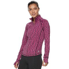 Women's FILA SPORT® Heathered Running Jacket