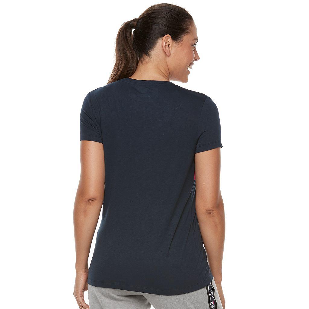 Women's FILA SPORT® Colorblock Logo Performance Tee