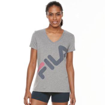 Women's FILA SPORT® Logo Graphic Performance Tee