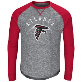 Men's Majestic Atlanta Falcons Corner Blitz Tee
