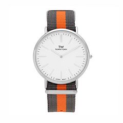 Territory Men's Striped Watch