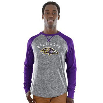 Men's Majestic Baltimore Ravens Corner Blitz Tee