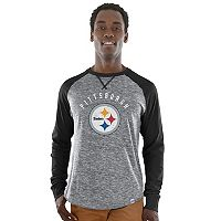 Men's Majestic Pittsburgh Steelers Corner Blitz Tee