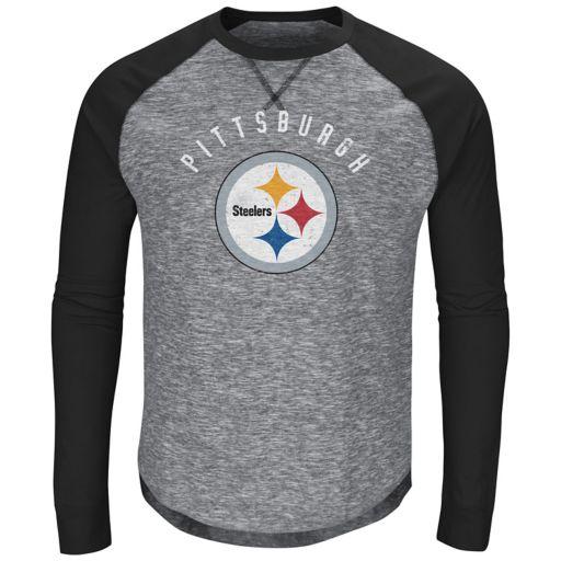 Men's Majestic Pittsburgh Steelers Corner Blitz Tee