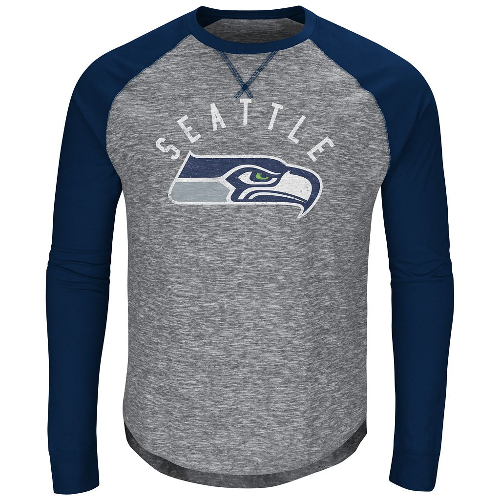 Men's Majestic Seattle Seahawks Corner Blitz Tee