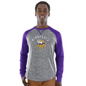 Men's Majestic Minnesota Vikings Corner Blitz Tee