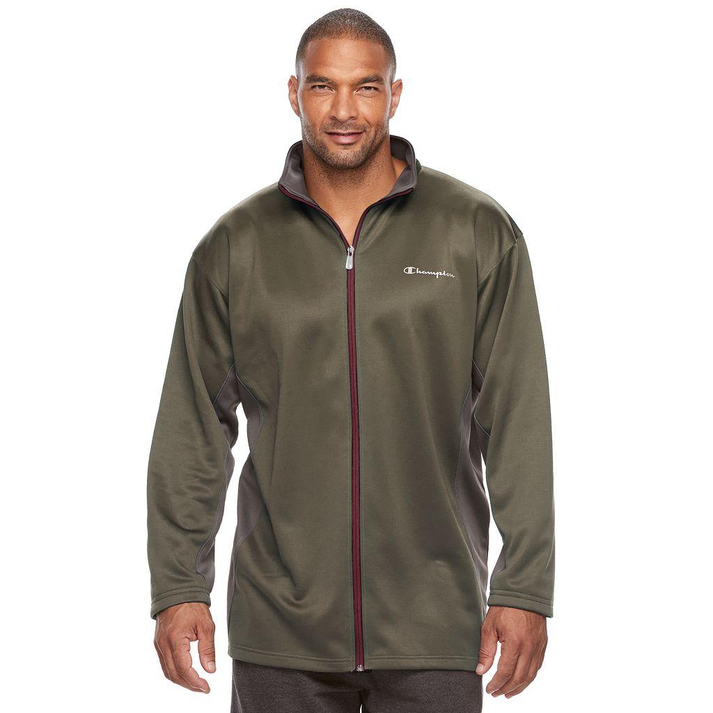 Big & Tall Champion Modern-Fit Colorblock Fleece Jacket