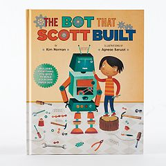 Kohl's Cares® 'The Bot That Scott Built' Book & Paper Model 2-piece Set