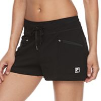 Women's FILA SPORT® Zip Pocket Drawstring Shorts