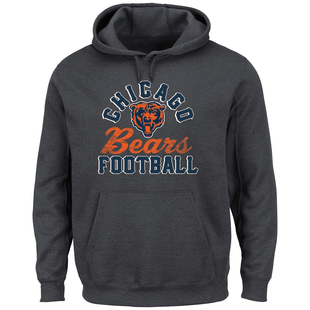 Men's Majestic Chicago Bears Kick Return Hoodie