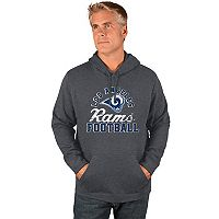 Men's Majestic Los Angeles Rams Kick Return Hoodie