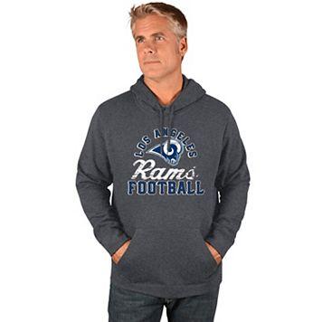 Men's Majestic Los Angeles Rams Kick Return Hoodie