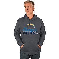 Men's Majestic Los Angeles Chargers Kick Return Hoodie