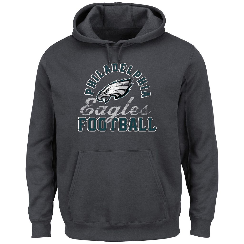 Men's Majestic Philadelphia Eagles Kick Return Hoodie