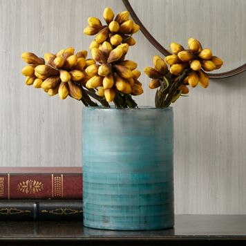 Madison Park Doli Medium Frost Blue Vase