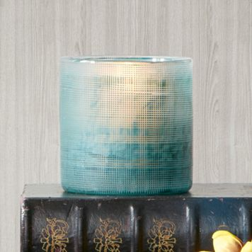 Madison Park Doli Small Frost Blue Vase