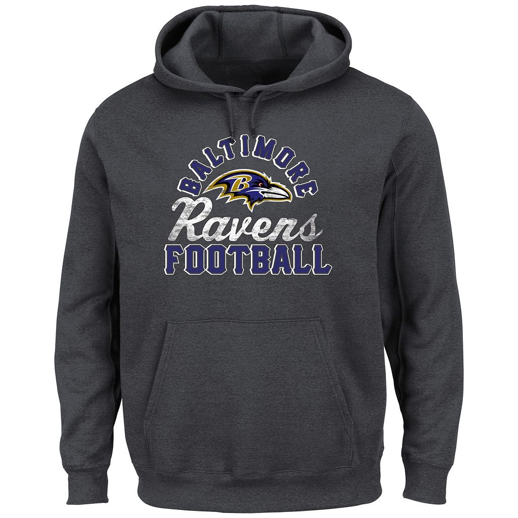 Men's Majestic Baltimore Ravens Kick Return Hoodie