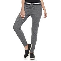 Juniors' SO® Elastic Waist Jogger Pants