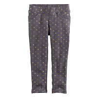 Toddler Girl Jumping Beans® Foil Heart Leggings