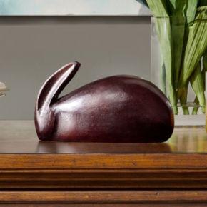 Madison Park Ricky Rabbit Brass Table Decor